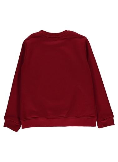 Morhipo Kids Sweatshirt Baskılı O Yaka Kırmızı